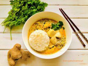Żółte curry z kurczakiem