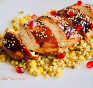 Kurczak teriyaki z sorgo