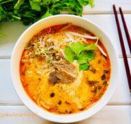Tajska zupa z wołowiną