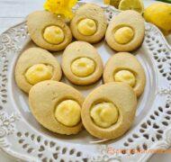 Ciastka maślane z lemon curd