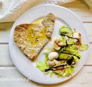 Smażony stek z tuńczyka